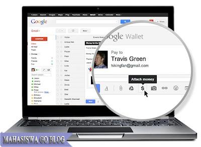 Google Wallet Tawarkan Kemudahan Mengirim Uang Lewat Gmail