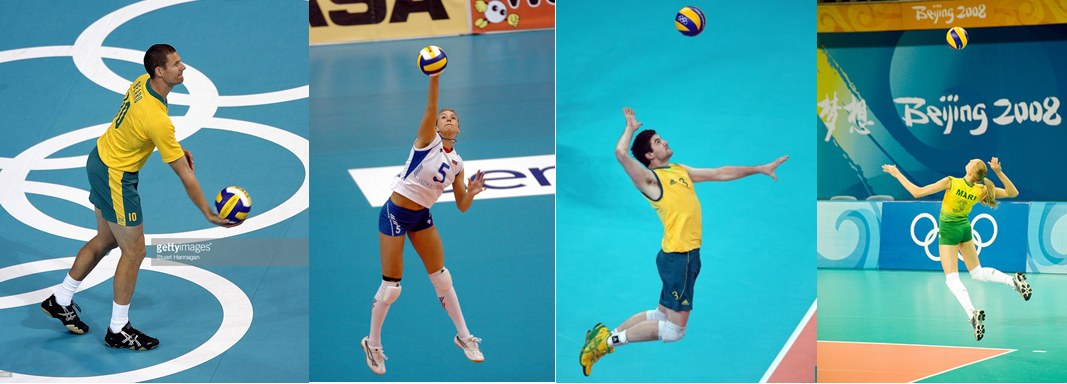 biomechanice in volleyball The shoulder is the third-most commonly injured body part in volleyball, with the majority of shoulder problems resulting from chronic overuse fourteen healthy female collegiate volleyball.