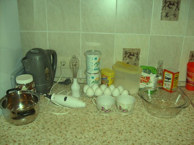 ингредиенты для теста - печем торт вебмастера
