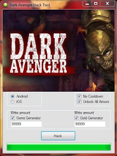 Dark Avenger Hack and Cheats Tool v.1.906