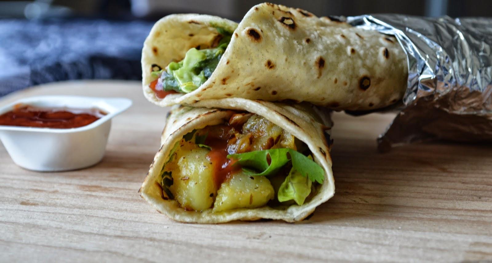 Potato Wraps/ Bombay Aloo Frankie/ Veg Frankie