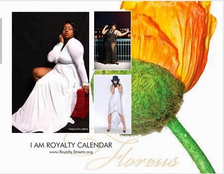 I AM ROYALTY CALENDAR