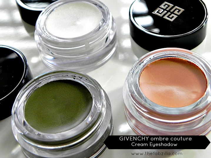 givenchy ombre couture cream eyeshadow, review, swatch