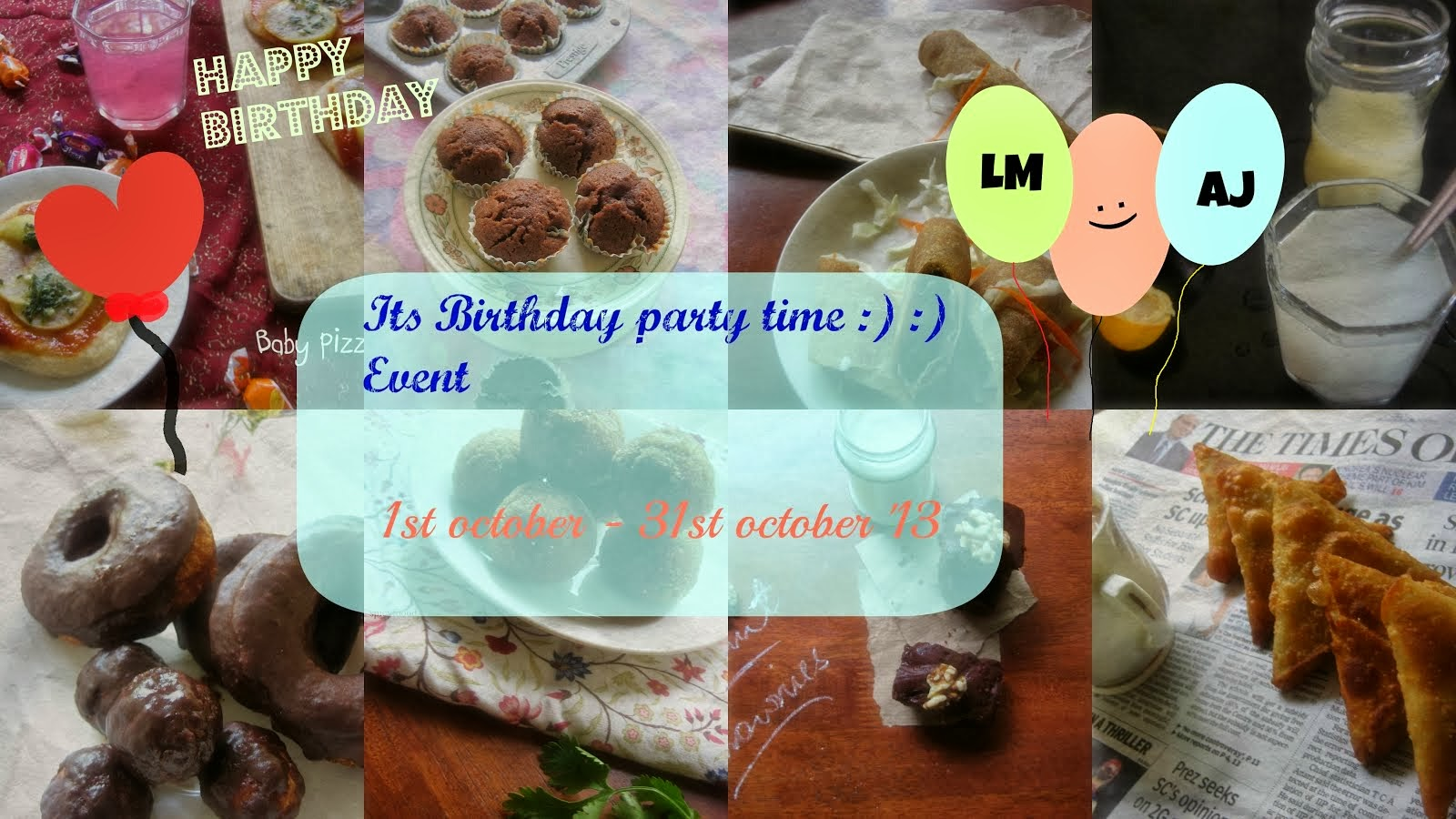 Come join the Birthday Party