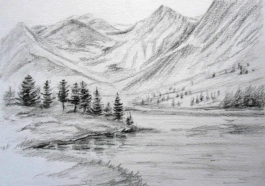 HowTo DrawLandscapes  Drawing Pencil Sketches