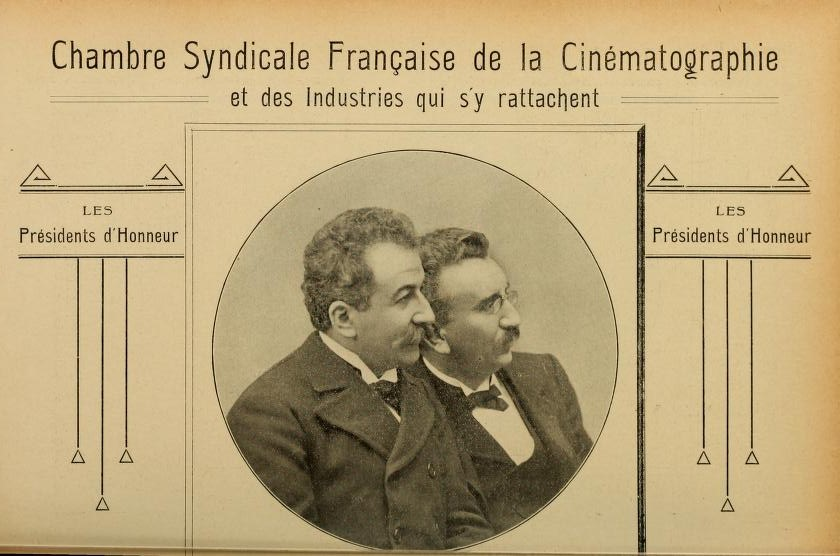 Alice Guy rencontre Les Freres Lumiere en  Mars 1895