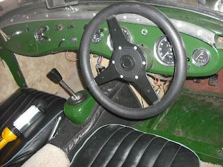 Austin Healey Sprite Mk2 Restoration Dashboard Repair