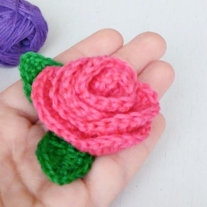 cmo tejer ROSAS a crochet Ahuyama Crochet