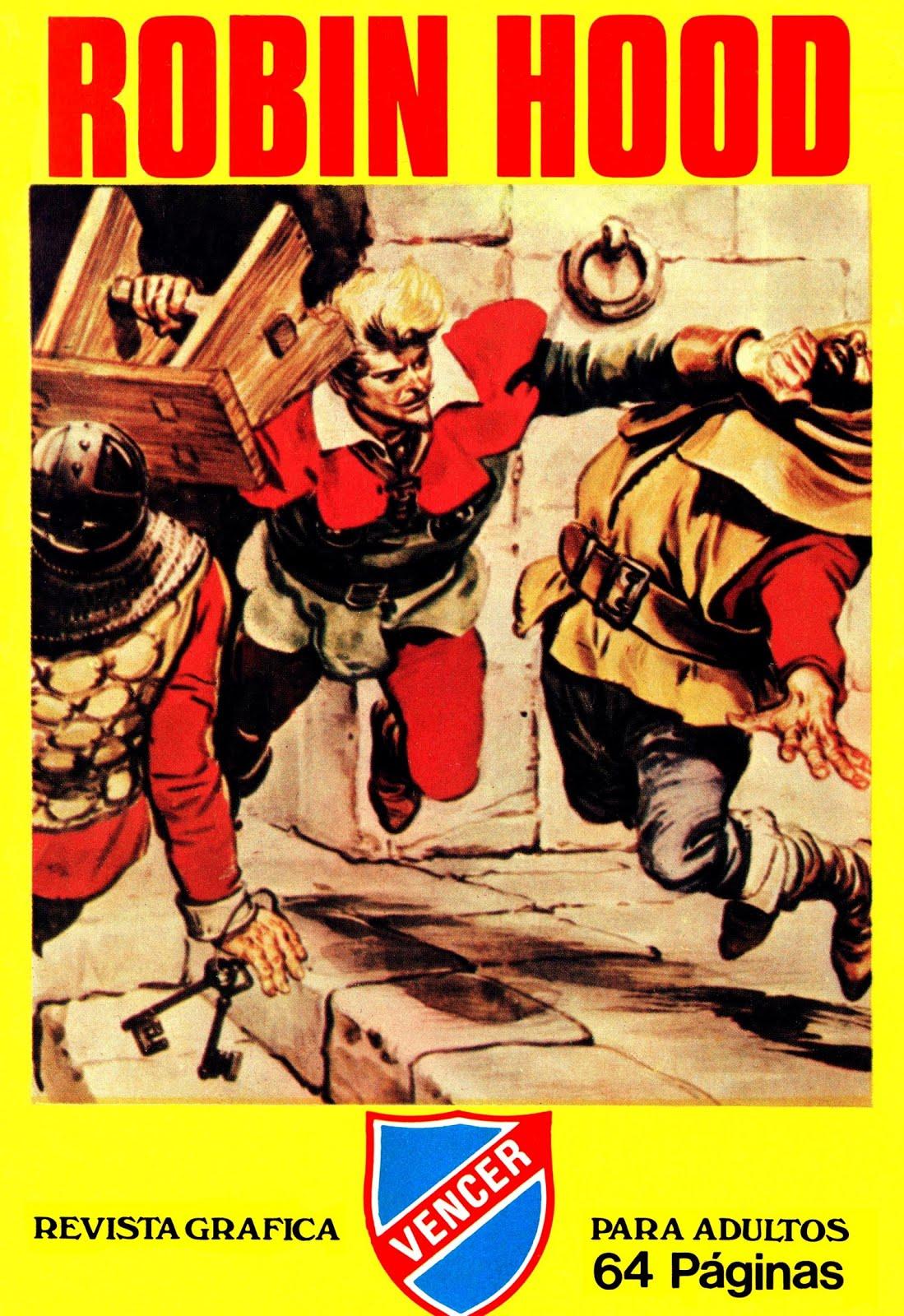 Robin Hood. Colección completa, 8 tebeos