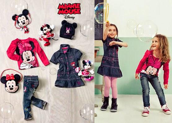 ropa niñas C&A otoño invierno Minnie Mouse Disney