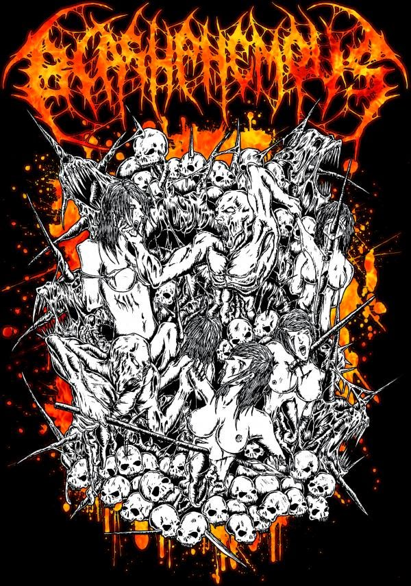 Artwork Wallpaper Blashphemous Band Sundanese Death Metal Bandung - Indonesia reverbnation twitter facebook instagram path blackberry