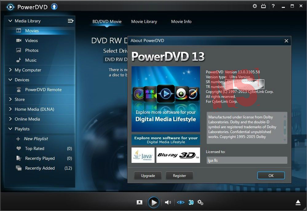 Cyberlink power dvd ultra 3d v10.0.1516.51 by professionalh33t