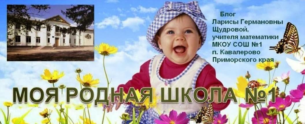 МОЯ РОДНАЯ ШКОЛА №1