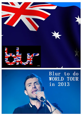 blur world tour 2012, blur europe tour, blur australia, blur indonesia, blur argentina, blur belgium, blur poster, blur uk logo, blur 2012, blur new album, blurballs