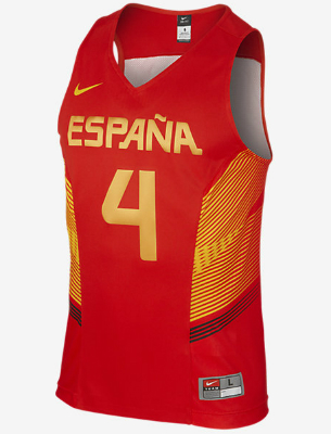camiseta selección española de baloncesto roja comprar