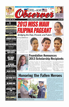 Fil-Am Observer June 2013 Issue