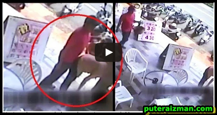 VIDEO Kamera CCTV Merakam Aktiviti Tidak Bermoral Seorang Lelaki Yang Tidak Dikenali