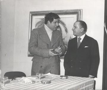 1964 - Con Mike Viggiano organizzatore del Festival Sammaritano
