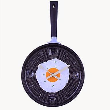 Reloj de Pared Sartén y Huevo Frito