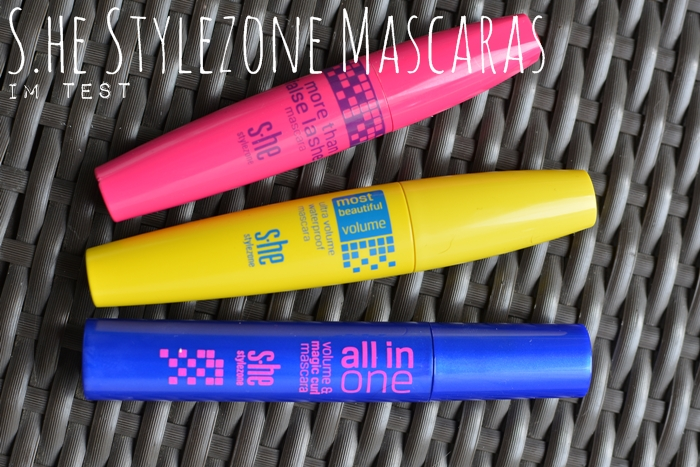 s.he stylezone Mascaras more than false lashes | ultra volume waterproof | all in one volume & curl