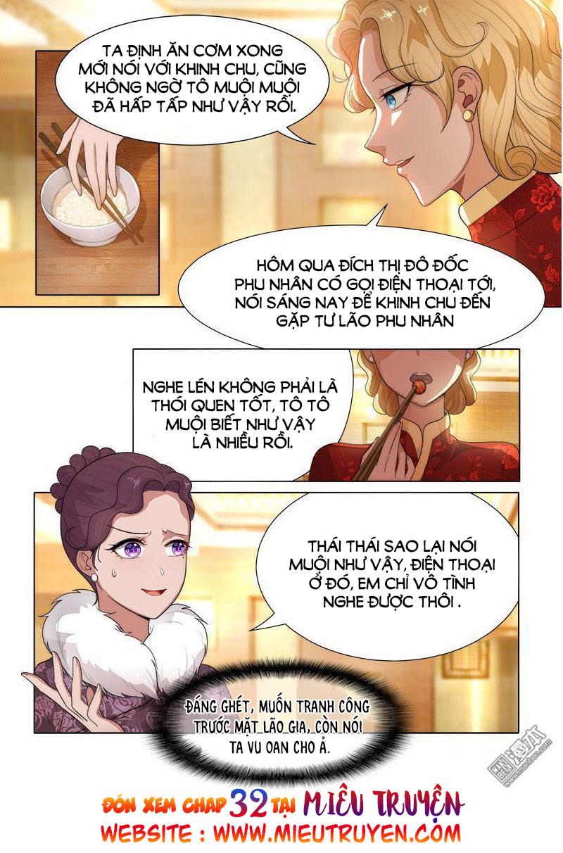 Thiếu Soái! Vợ Ngài Lại Bỏ Trốn Chap 31