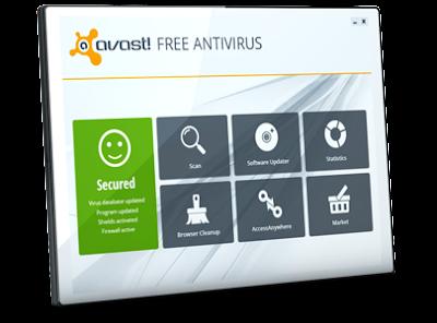 Avast Free Antivirus Version 8.0