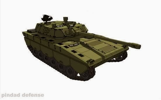 Disain Tank Pindad yang sempat beredar