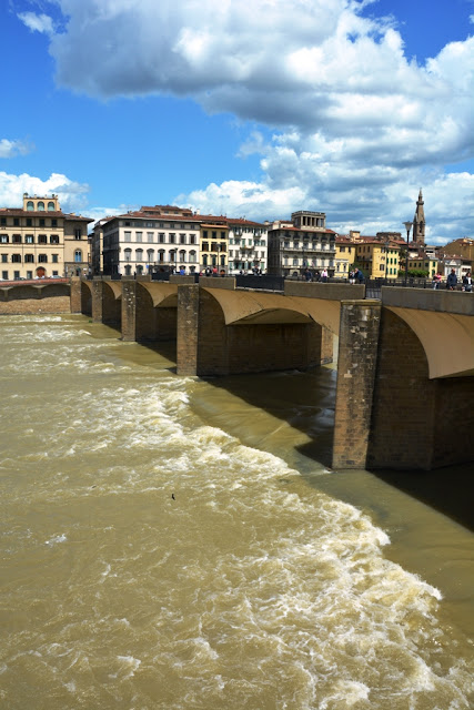 Florence Arno River Bridge