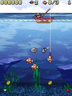 arcade fishing sony ericsson lqemc
