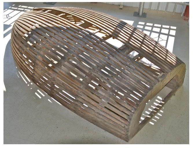 ftbv annexe en bois moul. Black Bedroom Furniture Sets. Home Design Ideas