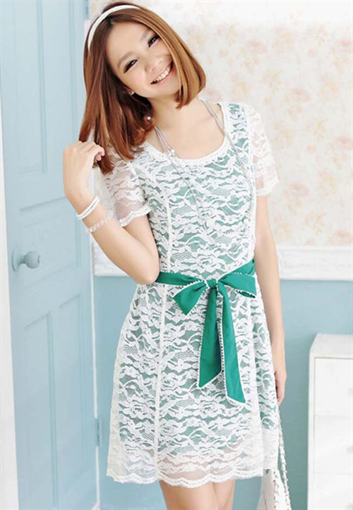 Dress Korea Baju Korean