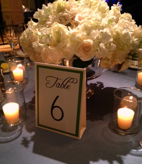 rose centerpiece, wedding reception flowers, roses and hydrangeas, white hydrangeas