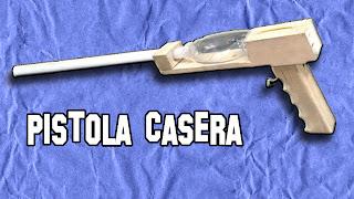 Pistola Casera Dardos