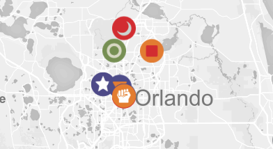 Orlando Hate Group Map - Map of hate groups in us