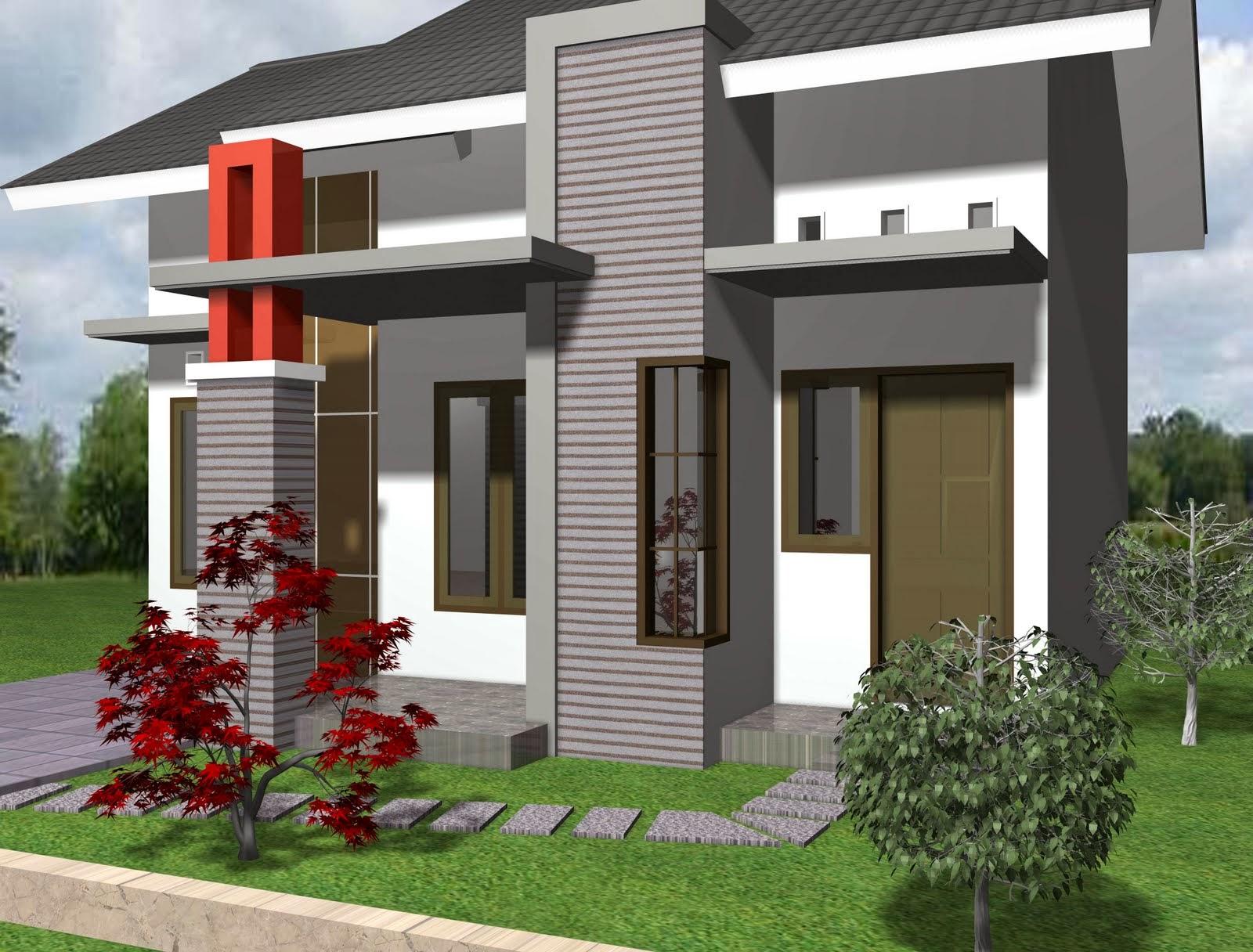 Gambar Desain Rumah Minimalis Sederhana 1 Lantai Berbagi Sejuta Info