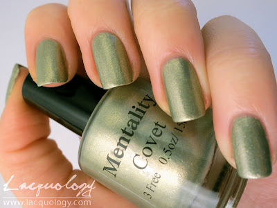 mentality polish covet swatch metallic