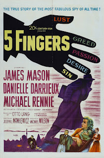 5 Fingers_afiche cine