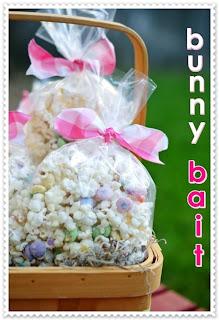 Ninhos de Páscoa em cesta