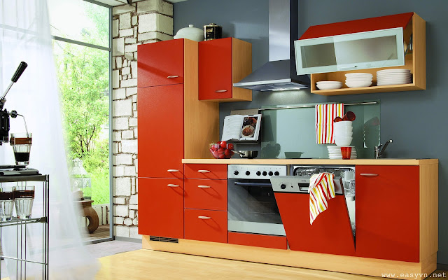 Download free beautiful kitchens wallpapers most for Thick kitchen wallpaper