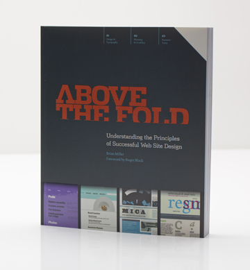 The Brian Miller Design Group web design and print design - author of the book, Above the Fold