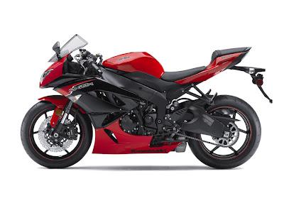 2012 Kawasaki Ninja ZX-6R Red Picture