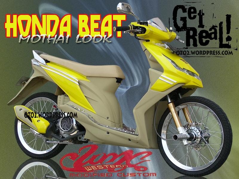Gambar Modifikasi Honda Beat Terbaru Paling Lengkap Dan