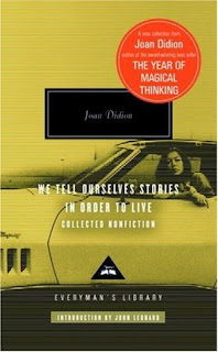 Book cover of We Tell Ourselves Stories in Order to Live by Joan Didion