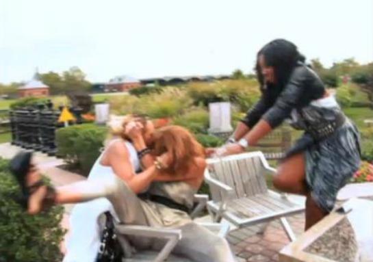 Kimbella and Erica Fight