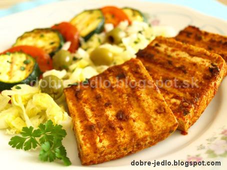 Grilované tofu v marináde - recepty