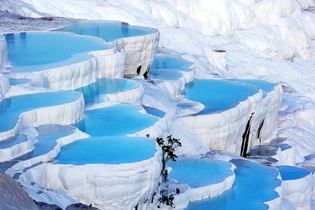Aguas termales de Pamukkale, Turquía