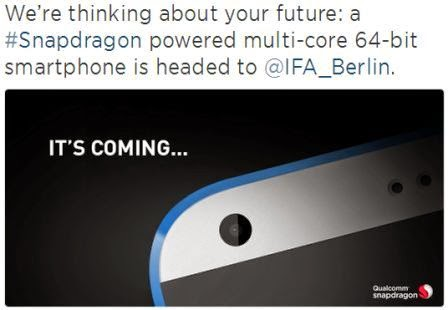 Qualcomm akan rilis chipset Snapdragon 64-bit di ajang IFA 2014