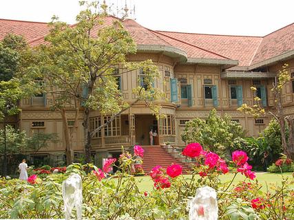 El Palacio de Vimanmek en Bangkok