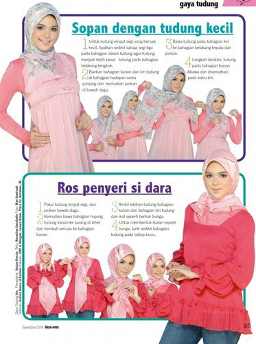 stylish with small hijab