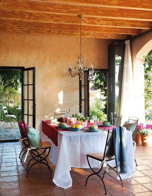 Comedores r sticos rustic dining rooms for Comedores rusticos pequea os